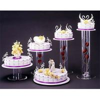 Buy cheap Acrylic plexiglass display case , wedding cake display holders stands product