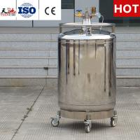Buy cheap TIANCHI Self-pressurized Liquid nitrogen Cryogenic Vessel YDZ-200 Price from wholesalers