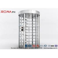 Buy cheap Full Height Turnstile RFID Card Reader Fingerprint Stainless Steel Turnstiles Secure Turn Style Gate product