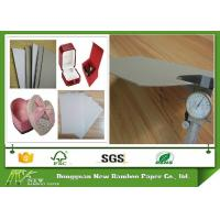 Buy cheap Recycled Gift Box Material Grey / Gray Chipboard With One Side White 320gsm - 2400gsm from wholesalers