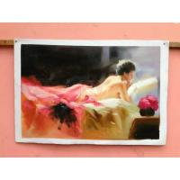 Buy cheap Handpainted Paintings On Canvas Fine Art Oil Painting Abstract Style from wholesalers