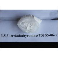 Buy cheap Liothyronine Sodium T3 Pharmaceutical Raw Materials CAS 55-06-1 for Weight Loss from wholesalers