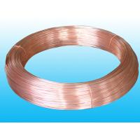 Buy cheap Round Refrigeration Copper Tube / Plating Copper Coated Tube 6 * 0.5 mm from wholesalers