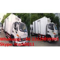Buy cheap 2017s best seller high quality JAC 5tons cold room truck, refrigerator truck with meat hangers for fresh meat for sale from wholesalers
