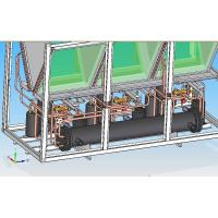 Buy cheap 52kW Heating Capacity Commercial Heat Pumps , Air To Water Heating System from wholesalers