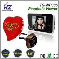 Buy cheap wide angle remote unlocking digital door peephole viewer taking photos by auto camera from wholesalers