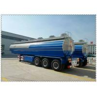 Buy cheap Top rated 3 axles cbm fuel trailer tanker fuel tanker semi-trailer from wholesalers