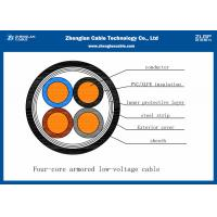 Buy cheap Low Voltage 4 Core Outdoor Underground Armoured Cable SWA Armoured Cable IEC Standard from wholesalers