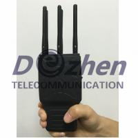 Buy cheap Handheld 6 Bands GSM CDMA 3G and Lojack GPS Signal Jammer with Nylon Case from wholesalers