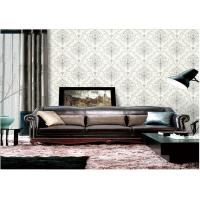 Buy cheap Removable Embossed Vinyl Wallpaper , Washable Embossed Textured Wallpaper product