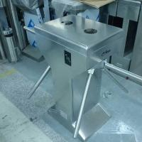 Buy cheap Intelligent 3 Arm Tripod Access Control Turnstiles Mechanical For Traffic from wholesalers