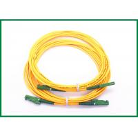Buy cheap Gigabit Ethernet E2000/APC fiber optic cable patch cord with Ultra fiber LSZH from wholesalers