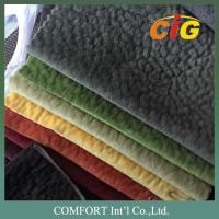 Buy cheap 100% Polyester Materials Emboss Sofa Beds Fabric Soft Bonding Russia 280CM Width from wholesalers