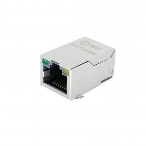 Buy cheap 10 100 Base-T Female RJ45 Network Jack With LED product