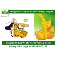 Slimming Body Natural Detox Drinks Mango Fruit Powder Drink Enzyme Weight Loss