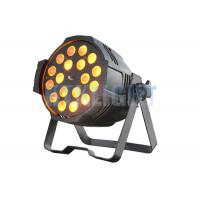 Buy cheap 18 Pcs 15W 5 - In - 1 LED Stage Spotlights /  LED Par Light 2 Years Warranty from wholesalers