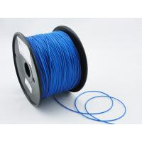 Buy cheap Professional Blue Flexible 1.75mm 3D Printing Material Filament With Printing from wholesalers