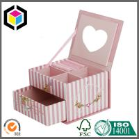 Buy cheap Handmade Custom Color Print Cosmetic Paper Packaging Box; Mirror Gift Box from wholesalers