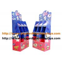 Buy cheap Blue Color  Cardbpard Cosmetics Products Cardboard Floor Displays Recyclable from wholesalers