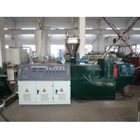 Buy cheap PVC WPC Extrusion Line , Twin Screw Extruder Pelletizing / Granule Machine from wholesalers