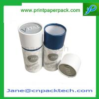 Buy cheap Promotional Tube Box Round Paper Box Gift Box Tea Packaging Box OEM from wholesalers
