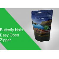 Buy cheap Euro Hole/ Punched Hole Stand-up Pouch Eco-friendly Printing and Tear Notch from wholesalers