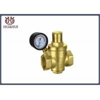 Buy cheap Proportional Water Pressure Regulator Valve Automatically With Brass Seat product