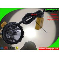 Buy cheap 10.4Ah Ultra Bright LED Mining Headlight With Cable SOS Low Power Warning from wholesalers