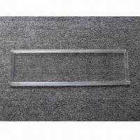 Buy cheap Polycarbonate rolling shutter, clear as glass but stronger than glass from wholesalers