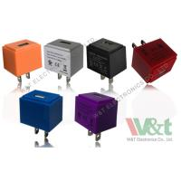 Buy cheap Colorful Cube European / Italy 5V AC DC USB Power Adapter For MP3 / MP4 / MP5 from wholesalers