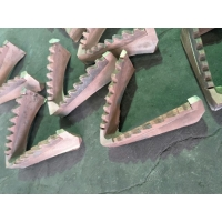 Buy cheap ASTM Certificates Customized Color Tooth Shape Bi Metal Casting product