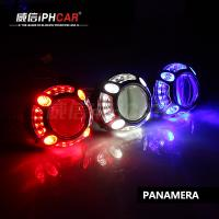 Buy cheap IPHCAR Hot Selling Demon Eyes Headlights Projector Lens Led Ring Light with Lens from wholesalers