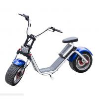 Buy cheap Harley Citycoco self Balance Electric Scooter with Fat Tires , LG lithium battery product