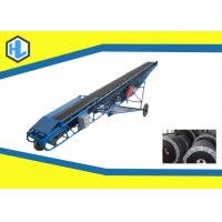 Buy cheap Customized Color 10-26 ° Inclined Angle Belt Conveyor Heat Resistant 800mm Belt Width from wholesalers