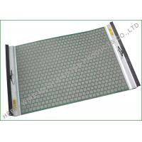 Buy cheap Single Side Tension Drying Rock Shaker Screen For Solids Control Longer Screen Life from wholesalers