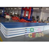 Buy cheap Custom Inflatable Air Gymnastics Mats For Physical Training Yoga Board from wholesalers