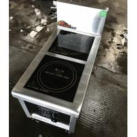 Induction Hob 2.4Kw Commcercial Induction Cooker 2 Zone Commercial Induction Stove