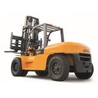 Buy cheap Heavy Machinery Counterbalance Diesel Forklift Truck 10 Ton Large Capacity product