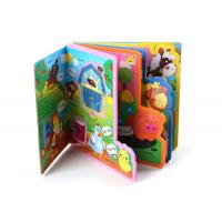 Buy cheap EVA Plastic Children Baby Bath Custom Book Printing for Baby Early Education from wholesalers