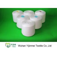 Buy cheap Ring Spinning 100 Polyester Sewing Thread Yarn On Plastic Dyeing Cones from wholesalers