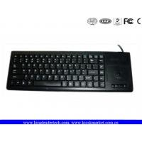 Buy cheap Plastic Integrated Industrial Computer Keyboard built with laptop style key and Trackball from wholesalers