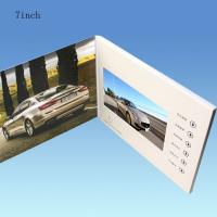 Buy cheap White 7 Inch Battery Operated Promotional Video Card With 128MB-8GB Flash Memory Card from wholesalers