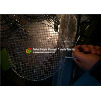 Buy cheap 304 / 316 BBQ Filter Screen Mesh Bright Colour Corrosion Resistance product