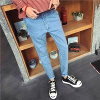 Buy cheap Customized color Men's Loose Straight Jeans , Classic Loose Fitting Jeans For Men product