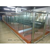 Buy cheap Tempered / toughened glass for swimming pool fence, tempered / tougnened glass for swimming pool railing from wholesalers