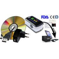 Buy cheap Color OLED AH-50EW Health CE FDA Audio Alarm Finger Oximeter Pulse Oxygen SPO2 Monitor USB Bluetooth Wireless Software from wholesalers