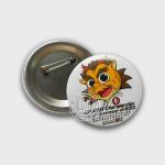 Buy cheap 20th anniversary of HKSKU Commemorative Tin Badge from wholesalers
