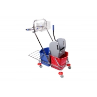 Buy cheap Restaurant Down Press Double Mop Bucket With Wringer from wholesalers