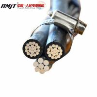 Buy cheap ACSR Conductor/AAC / AAAC / ACCC ABC aerial bundled electrical cable from wholesalers