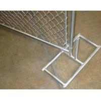 Buy cheap 50x50 Mm Mesh Construction Chain Link Fence Privacy Panels 2400 Mm Height from wholesalers